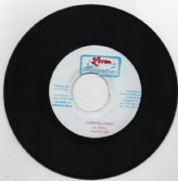 SALE ITEM - Sizzla - Creation Chant / Turning Point (Love Promotions) 7""